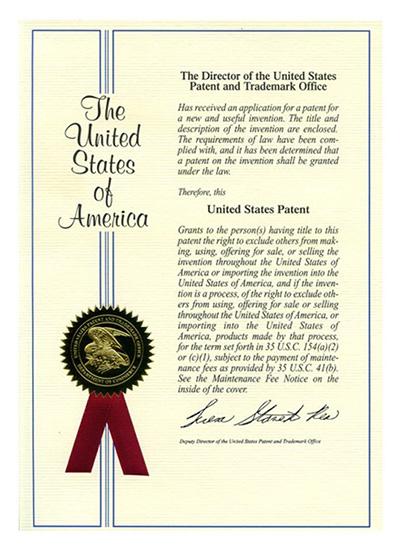 发光电池在美国获得发明专利